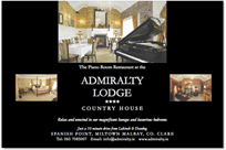 Admiralty Lodge Advert