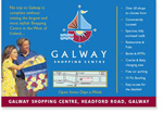 Galway Shopping Centre Advertisment for Newspapers