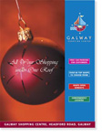Chistmas in Galway Shopping Centre Advert design link
