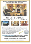 Nile Lodge - Advert for Premium rtental Market, Holidays in Galway City