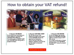 VAT Refund explanation advertisment in Ireland
