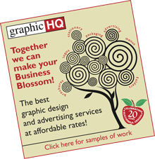 Graphic HQ advert portfolio link